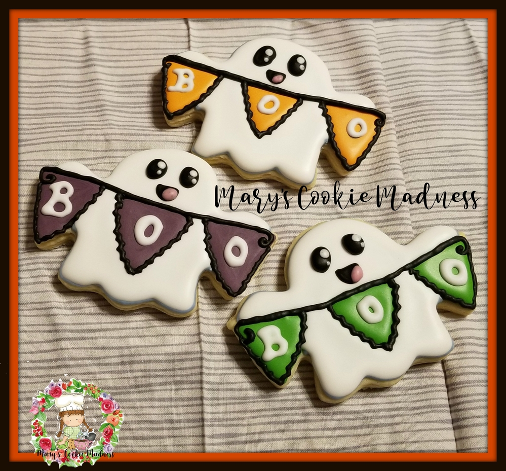 Boo Ghosts for Halloween 2020