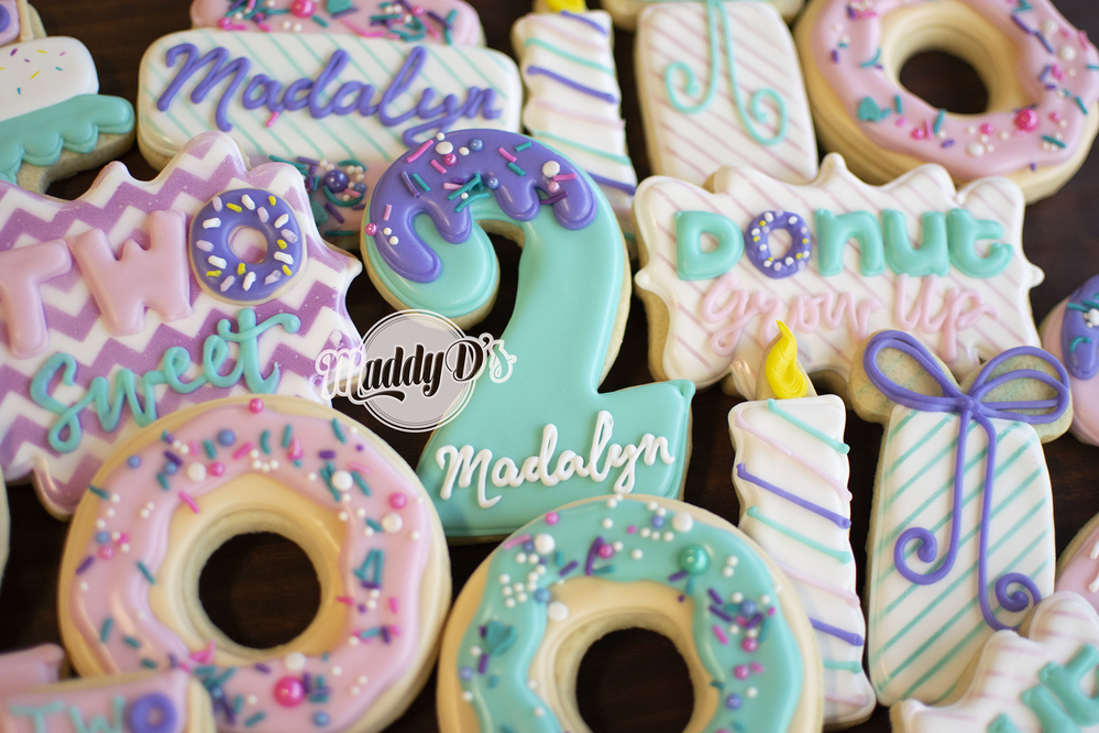 Donut Birthday Maddy Ds