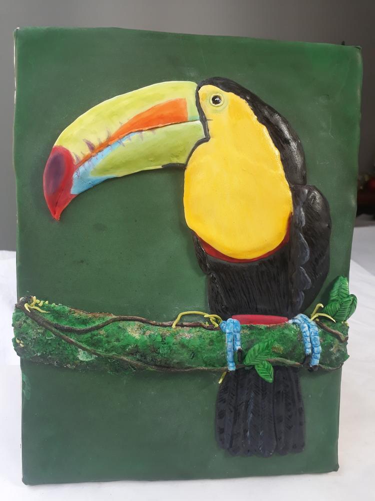 3-D Toucan Cookie