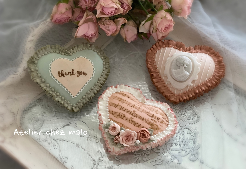 Antique Heart Cookies