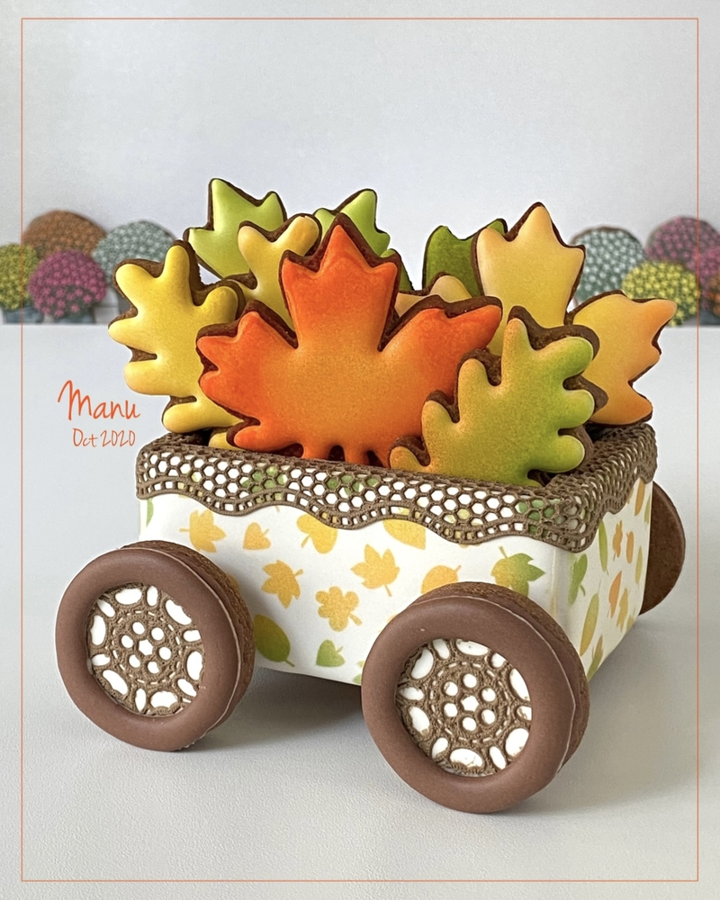 3-D Wagon Cookie 2 | Manu