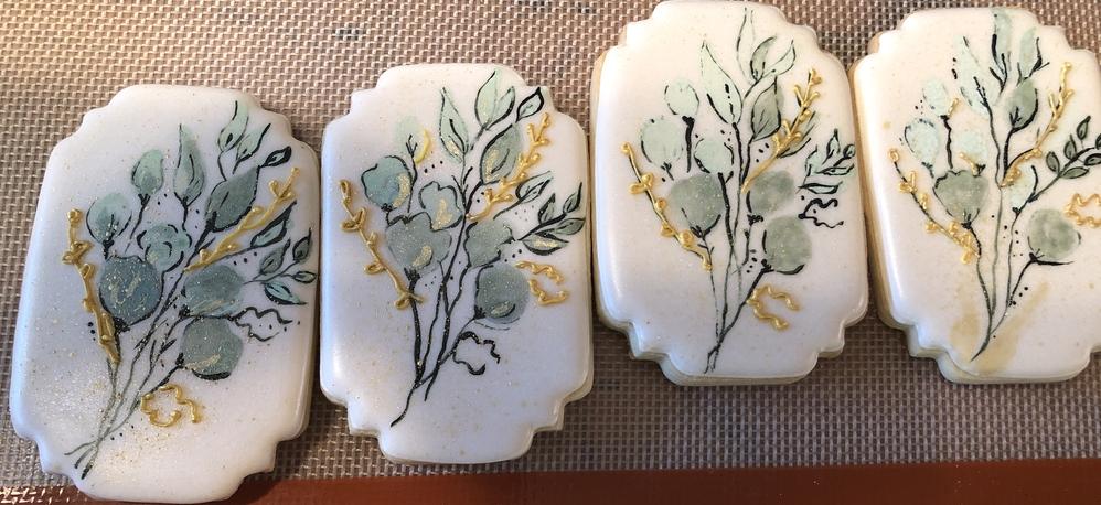 Daughter's Wedding Cookies