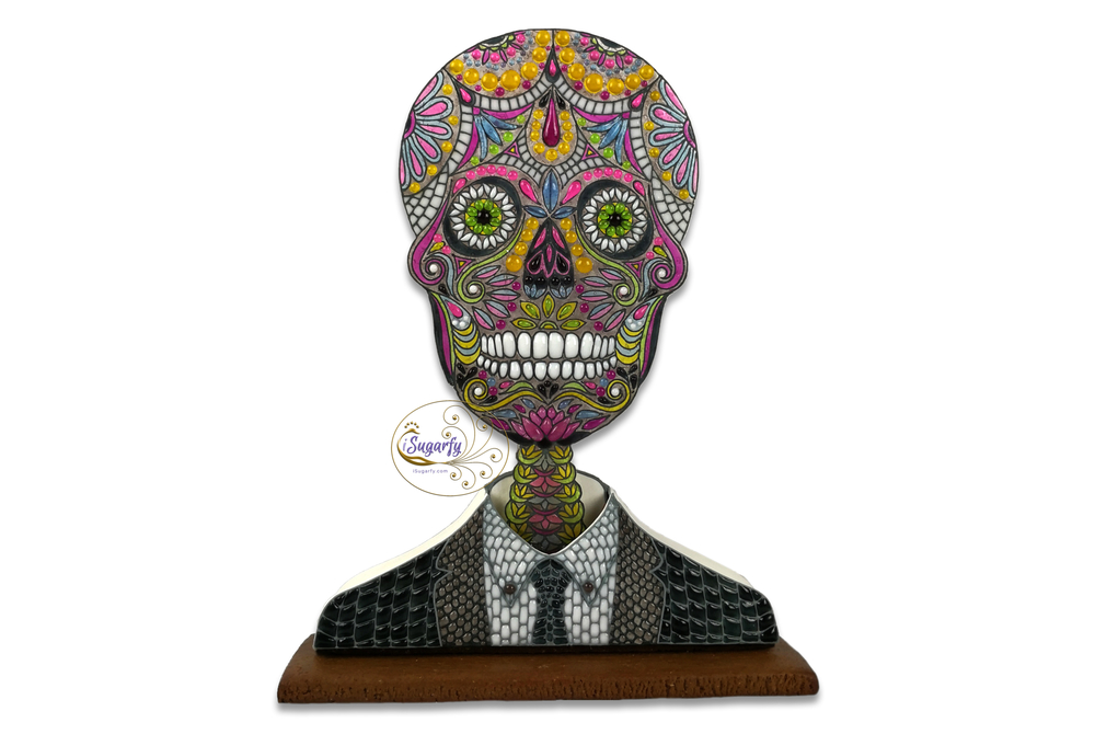 Sugar Skull in Suit