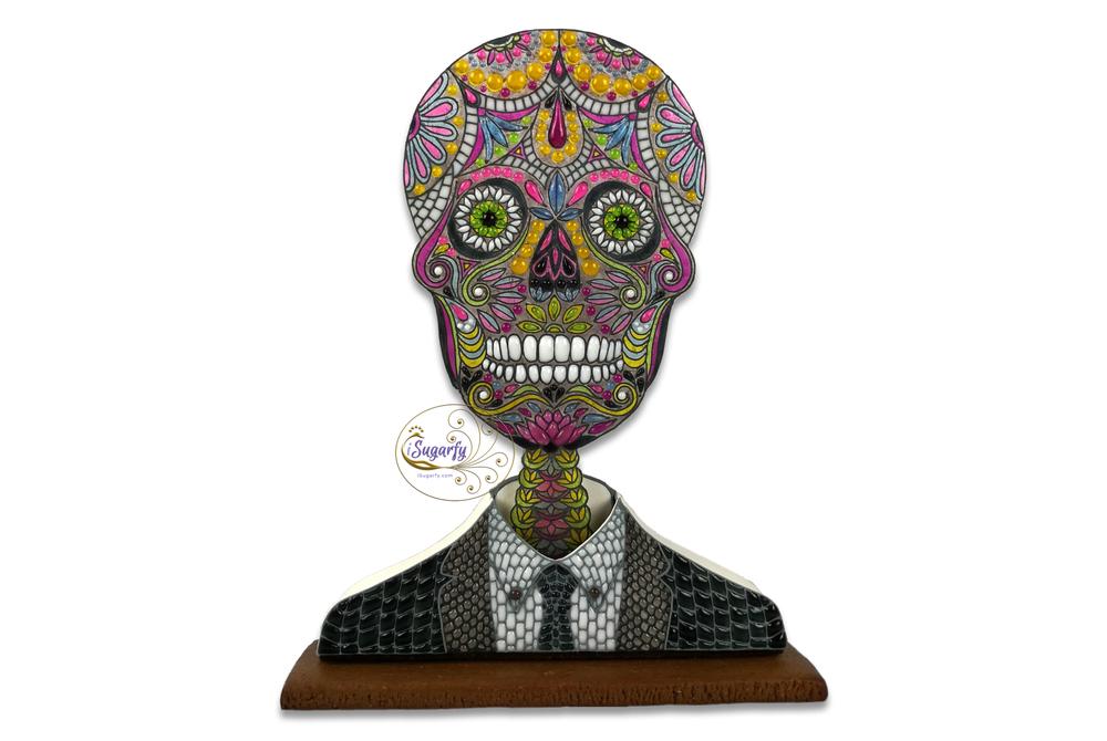Sugar Skull in Suit