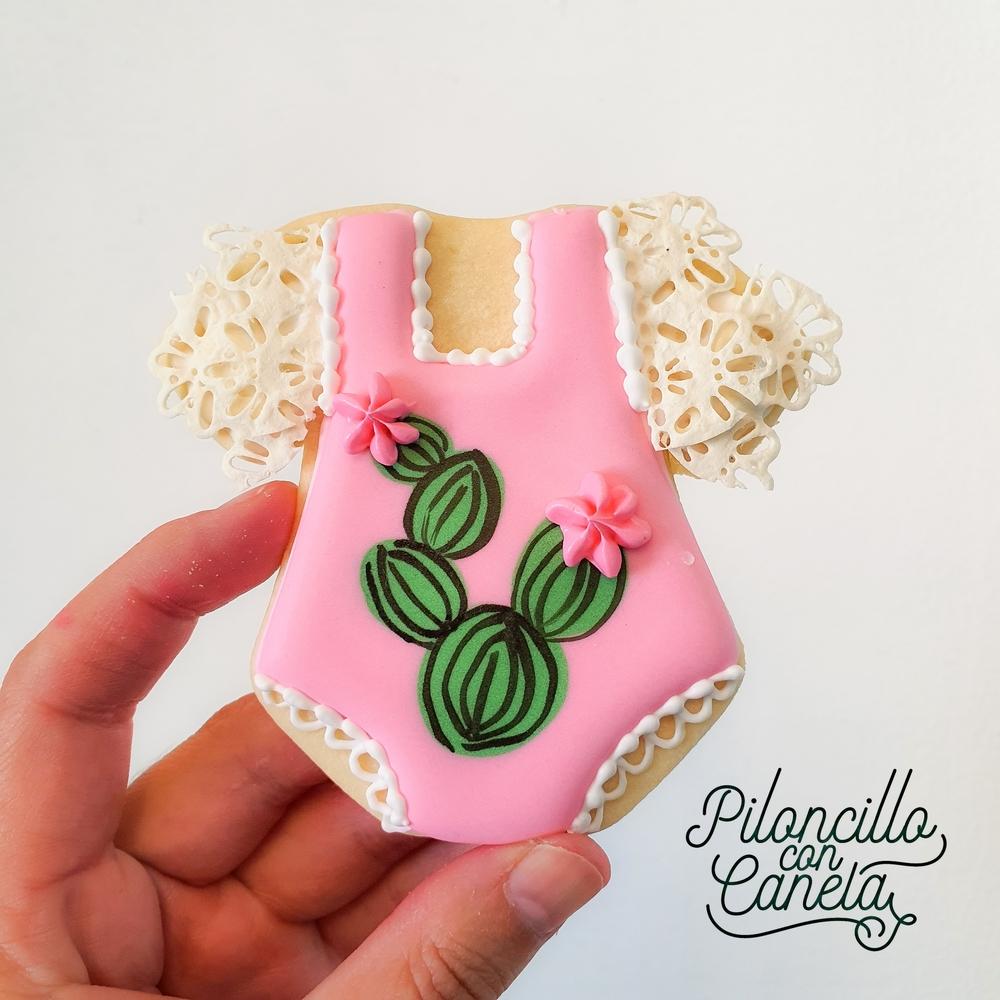 Cactus Baby Cookie