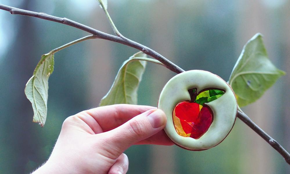 Apple Stained Glass (Szalony Cukiernik)