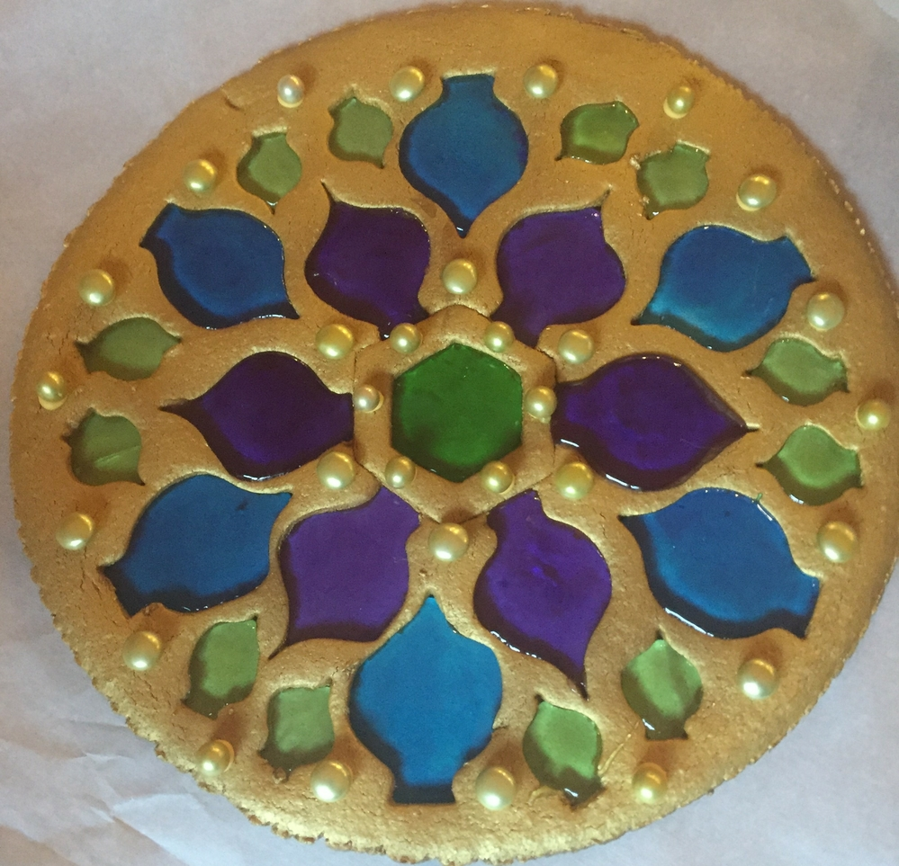 Stained Glass Medallion