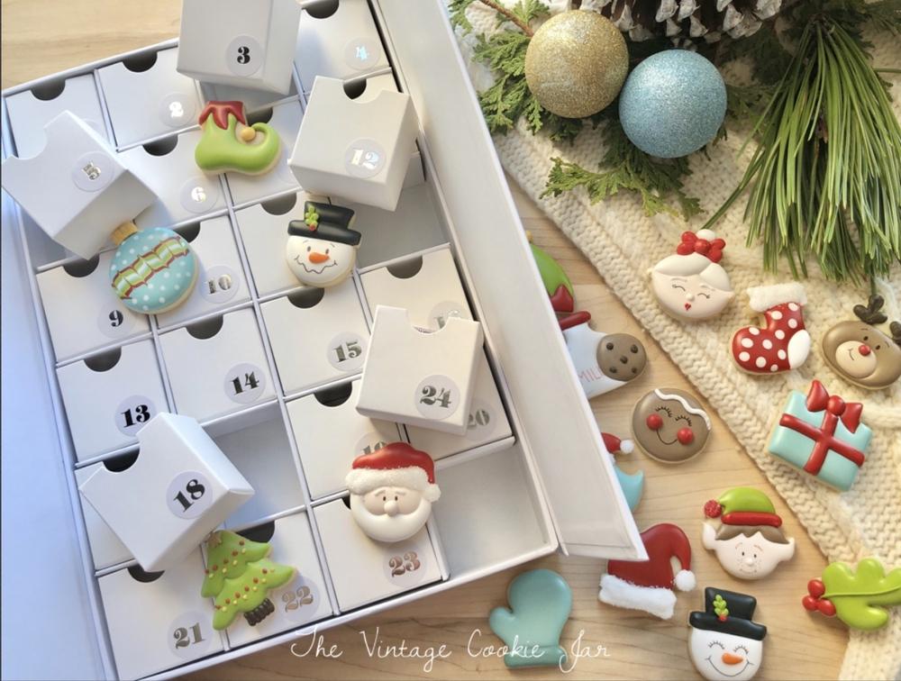 Sugar Cookie Advent Calendar