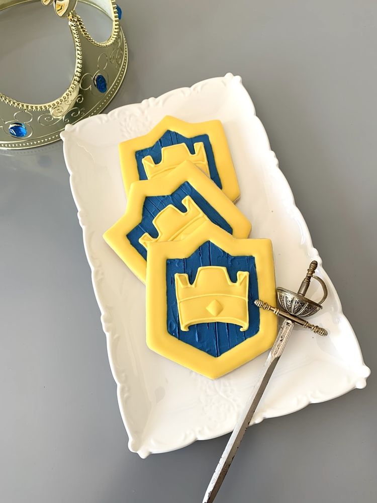 Knight Birthday Cookies