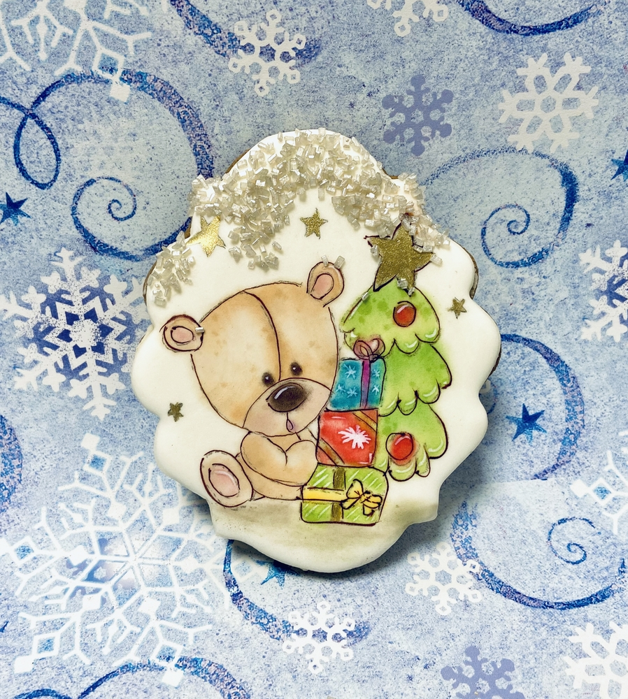 Teddy Bear in Christmas