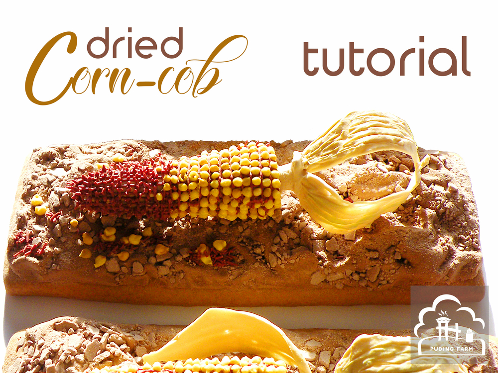 Dried Corn-cob - Tutorial