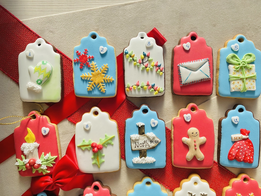 Advent Calendar Cookies - View #1
