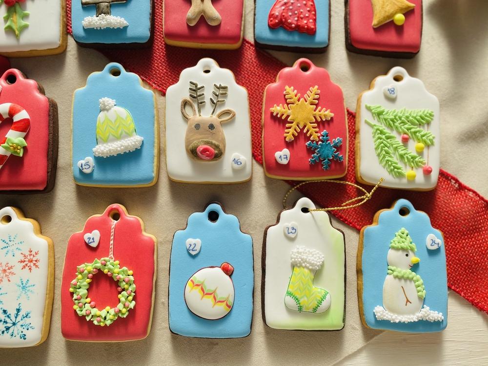 Advent Calendar Cookies - One Last View!