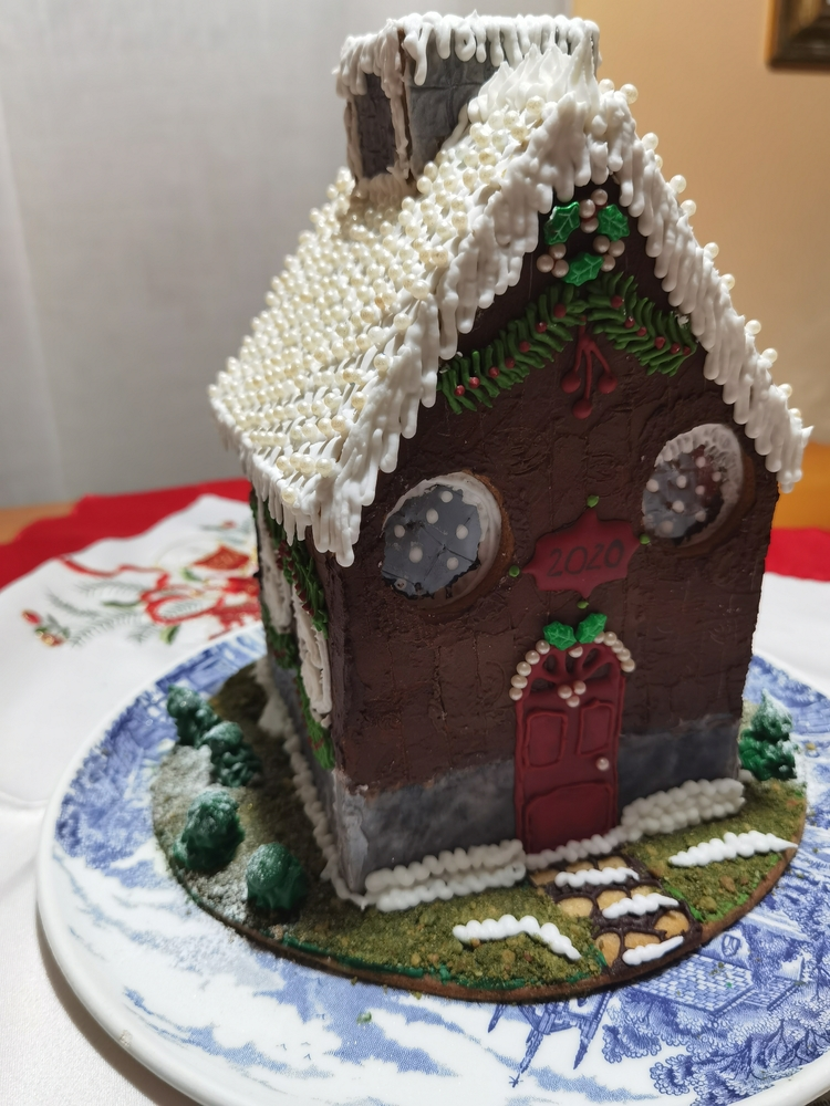 Gingerbread Mountain House