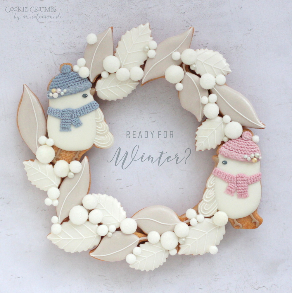 Winter Cookie Wreath