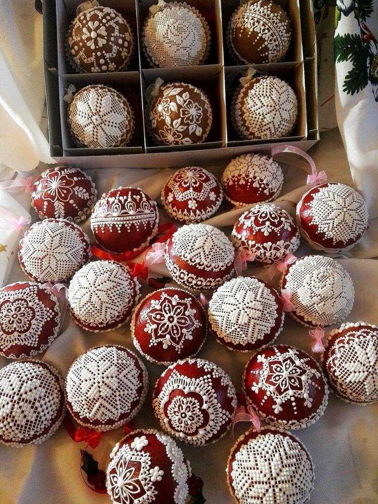 ozdoby 3d z piernika (3-D Christmas Ornaments)