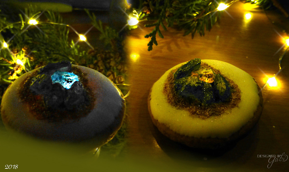 Illuminated Geode Cookie