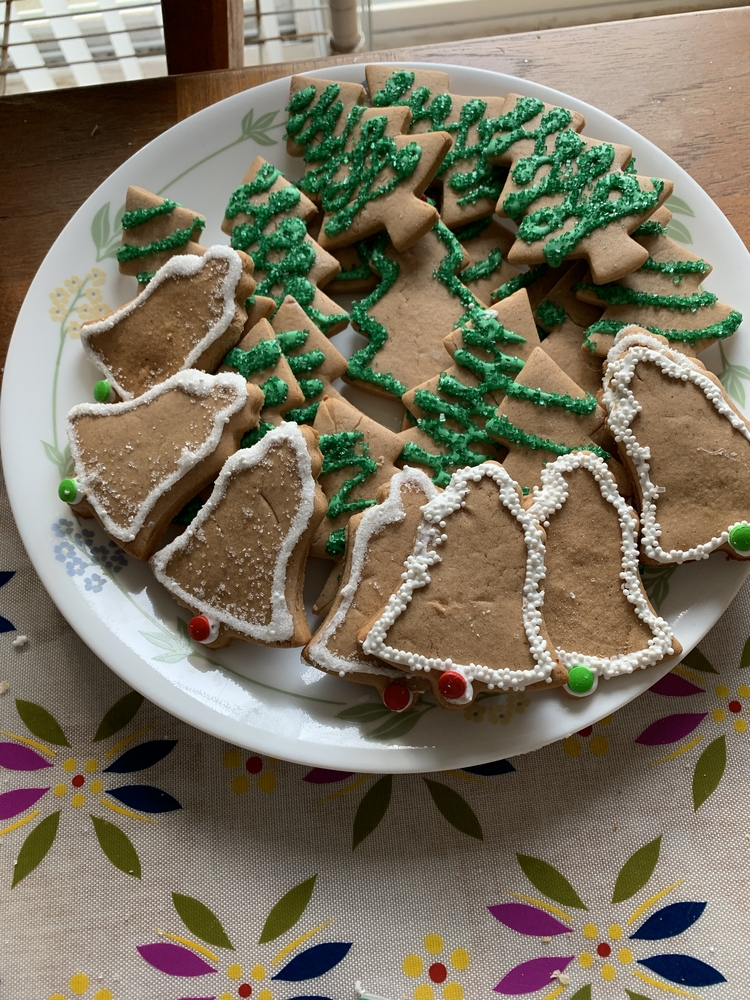 Gingerbread Trees and Bells