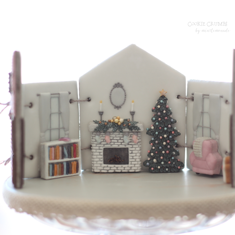 Christmas Cottage Set
