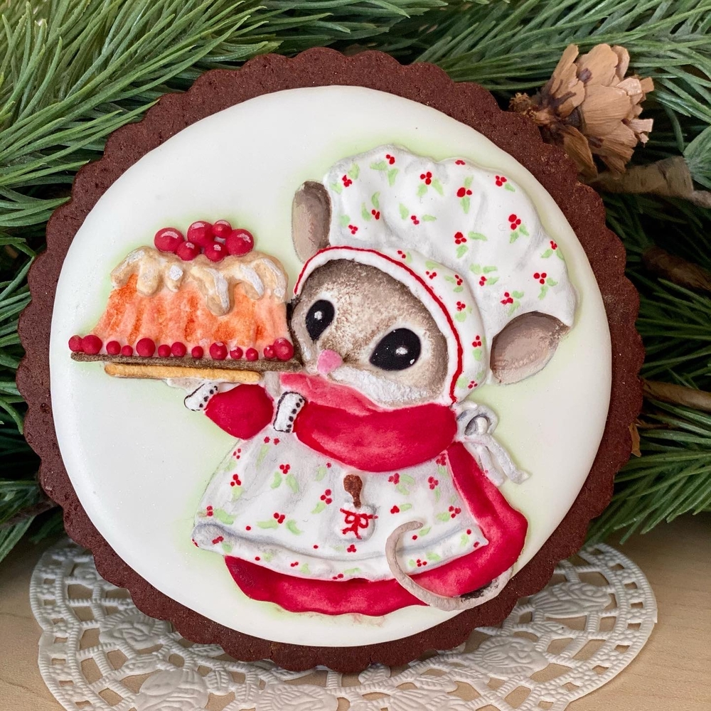 Mother Mouse Cookie