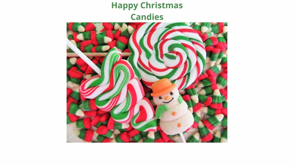 Happy Christmas Candies