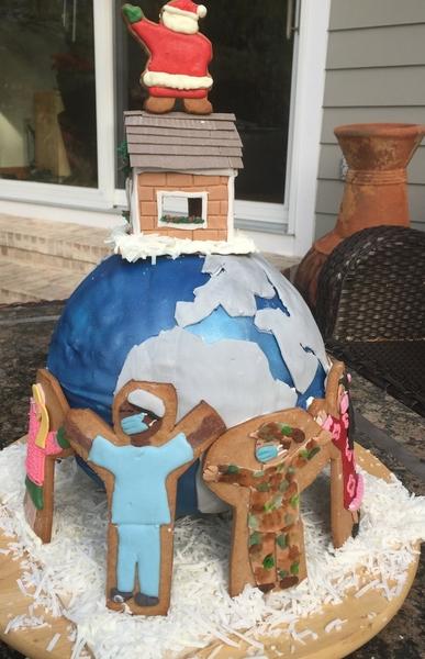 globe back view