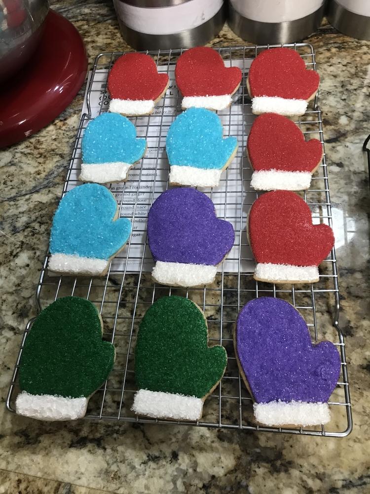 Adorable Mitten Cookies