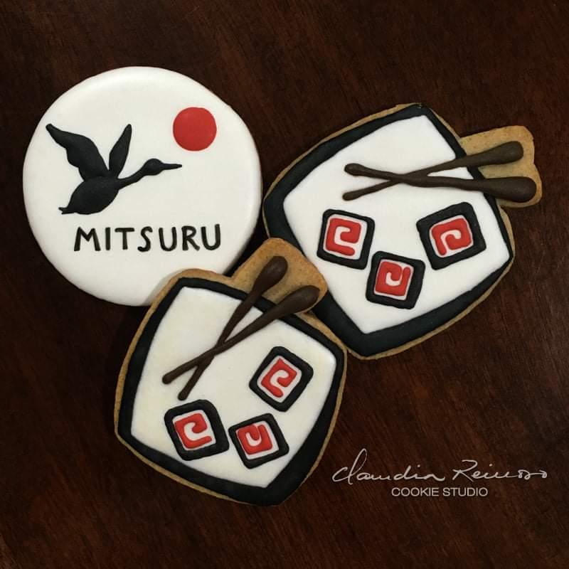Mitsuru and sushi