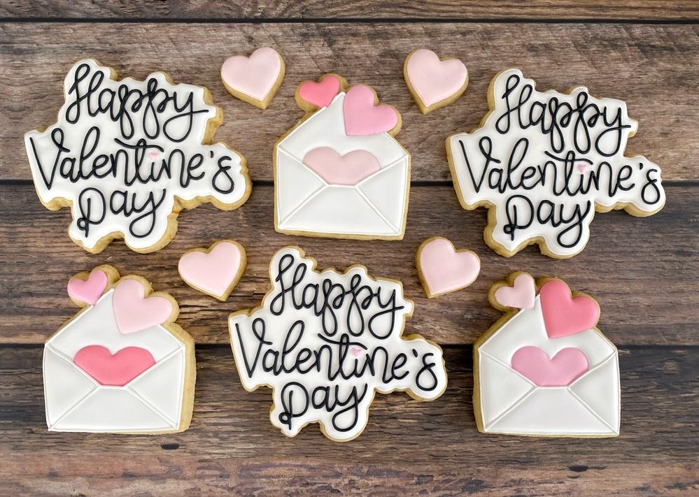 Valentine's Day Script and Envelopes