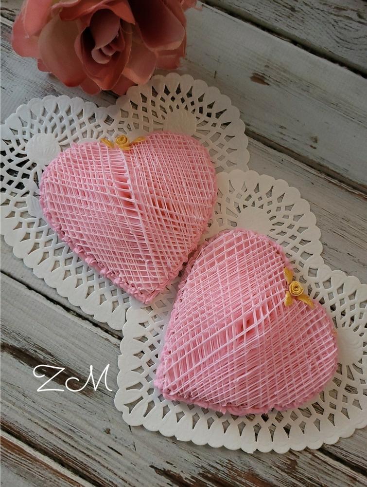 Stringwork Heart Cookie