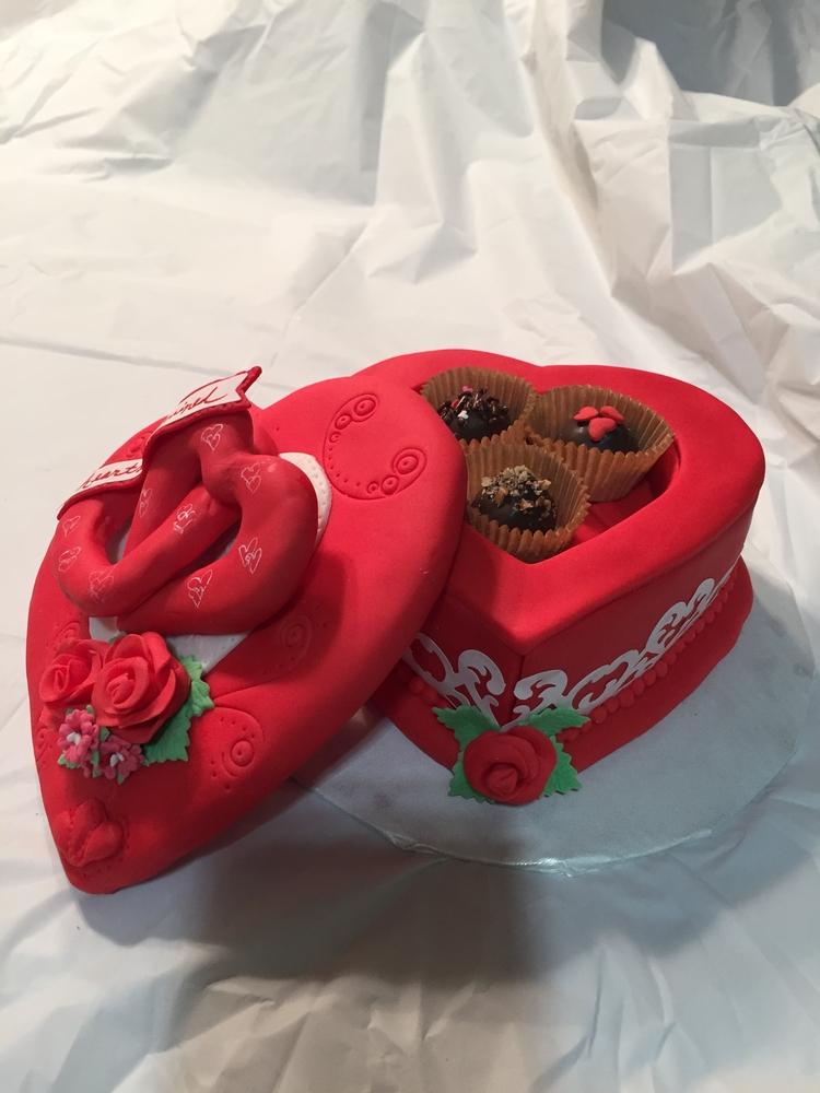 3-D Cookie Heart