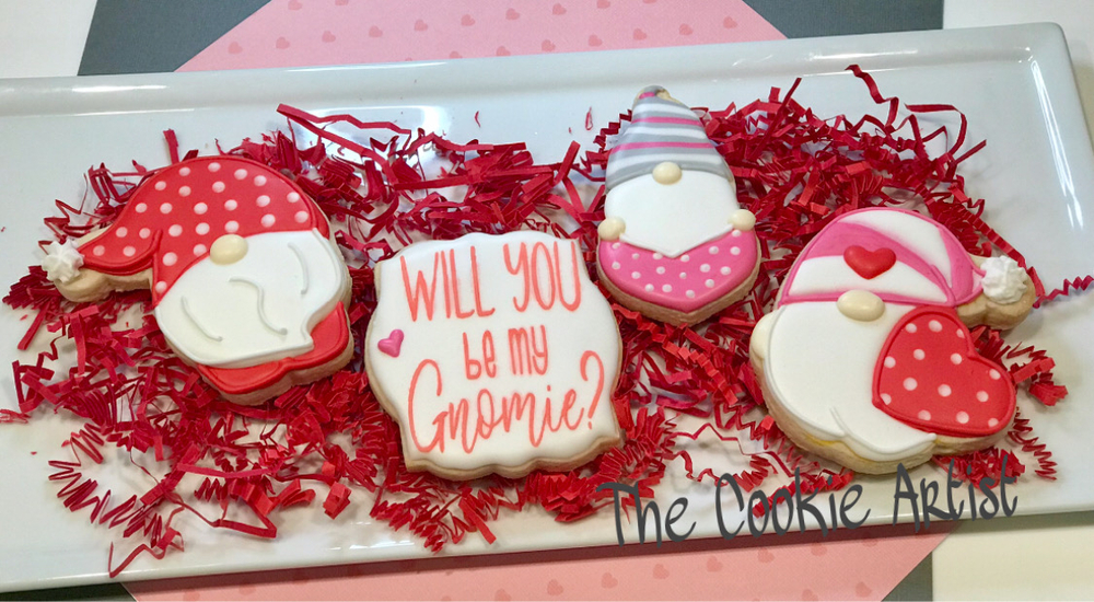 Will You be my Gnomie?  by The Cookie Artist