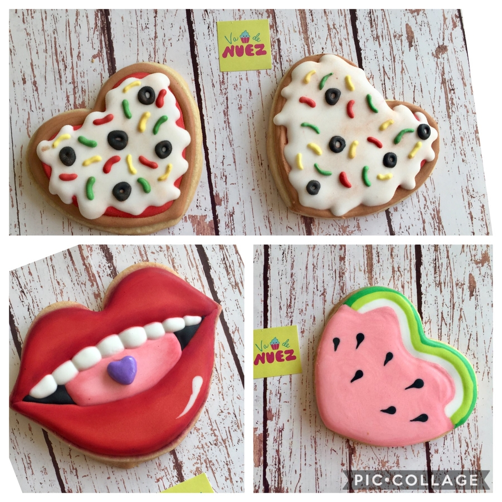 Food Hearts and Lips
