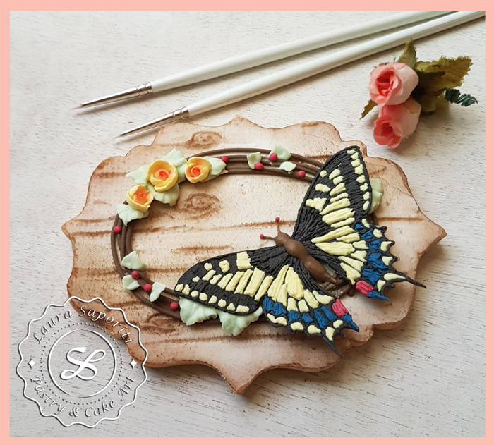 Swallowtail Butterfly Stitch Cookie