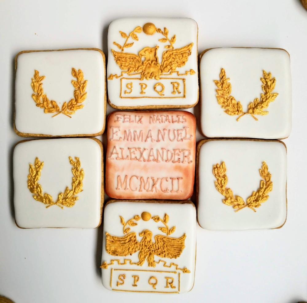 SPQR (Senātus Populusque Rōmānus ) Cookies
