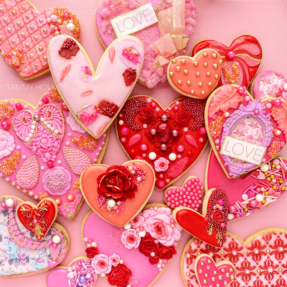 Valentines 2021 - Pink Hearts #1