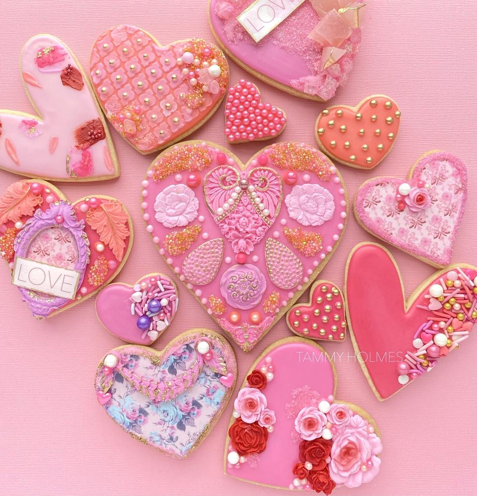 Valentines 2021 - Pink Hearts #2