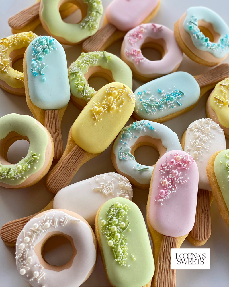 Donuts & Ice Cream Cookies. By Lorena Rodríguez of Lorena's Sweets