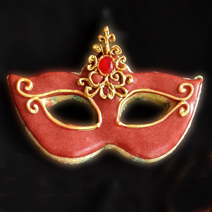Venice Mask Cookie