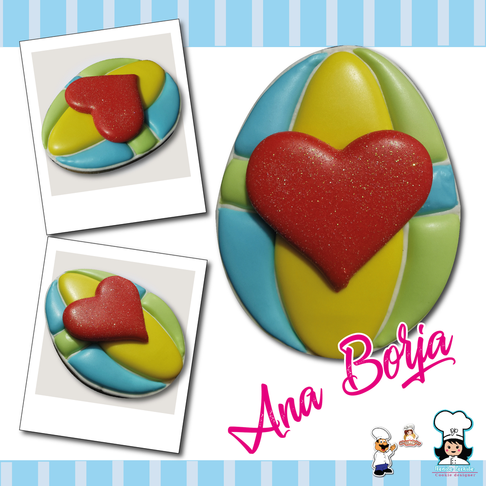 Easter Egg with Heart