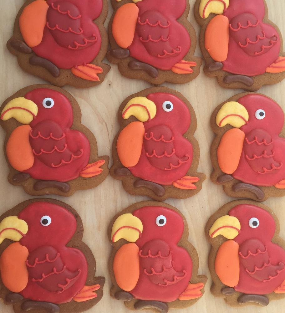 Little Red Birds