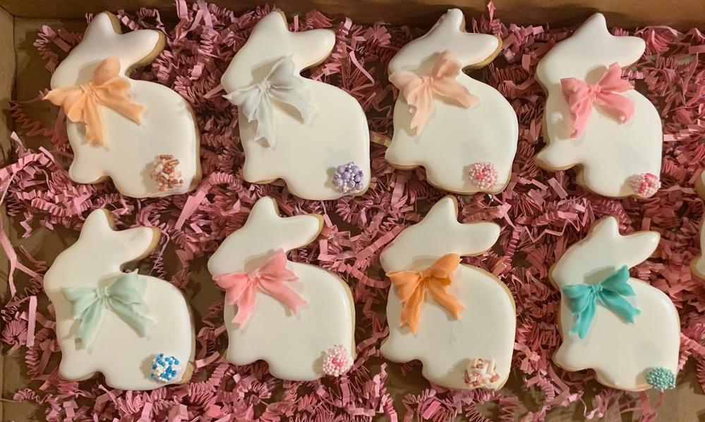 Easter Pastel Bunnies