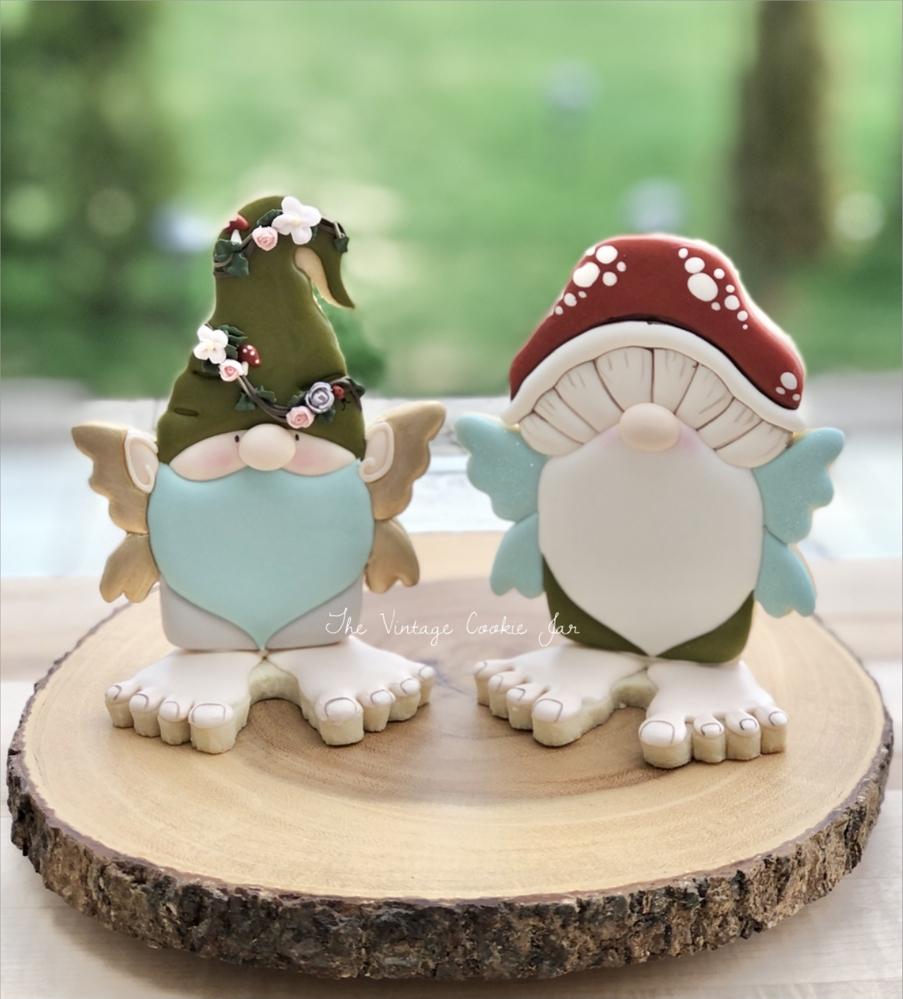 3-D Fairy Gnomes