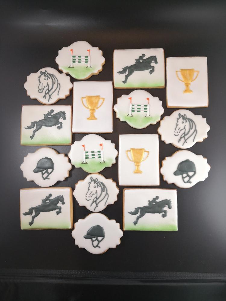 Horseback Riding Cookies - View #1