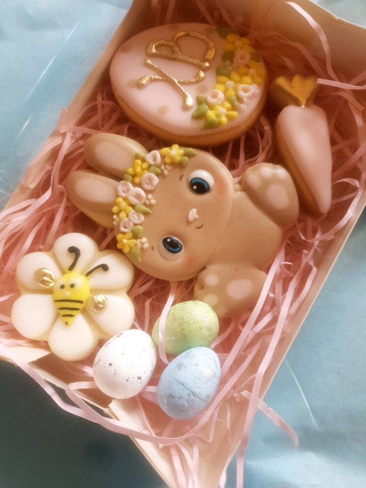 Easter Bunny in Box