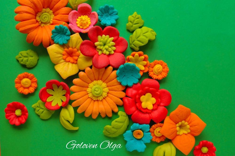 Flower Cookies & No Icing