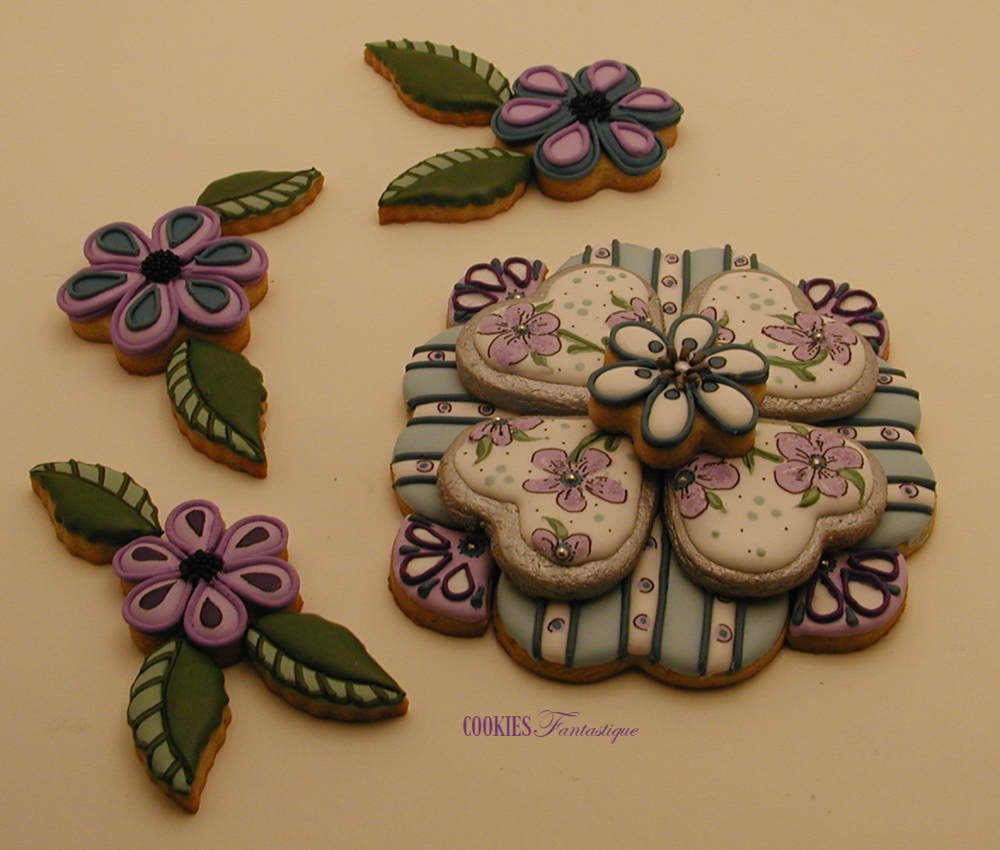 Platter/Puzzle Cookie ~ Fun for All