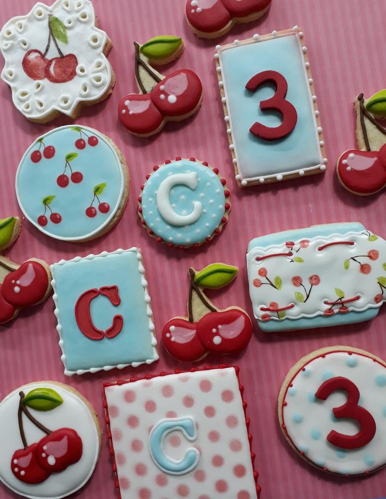 Cherry Cookies Set