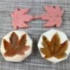 maple leaf impression mat