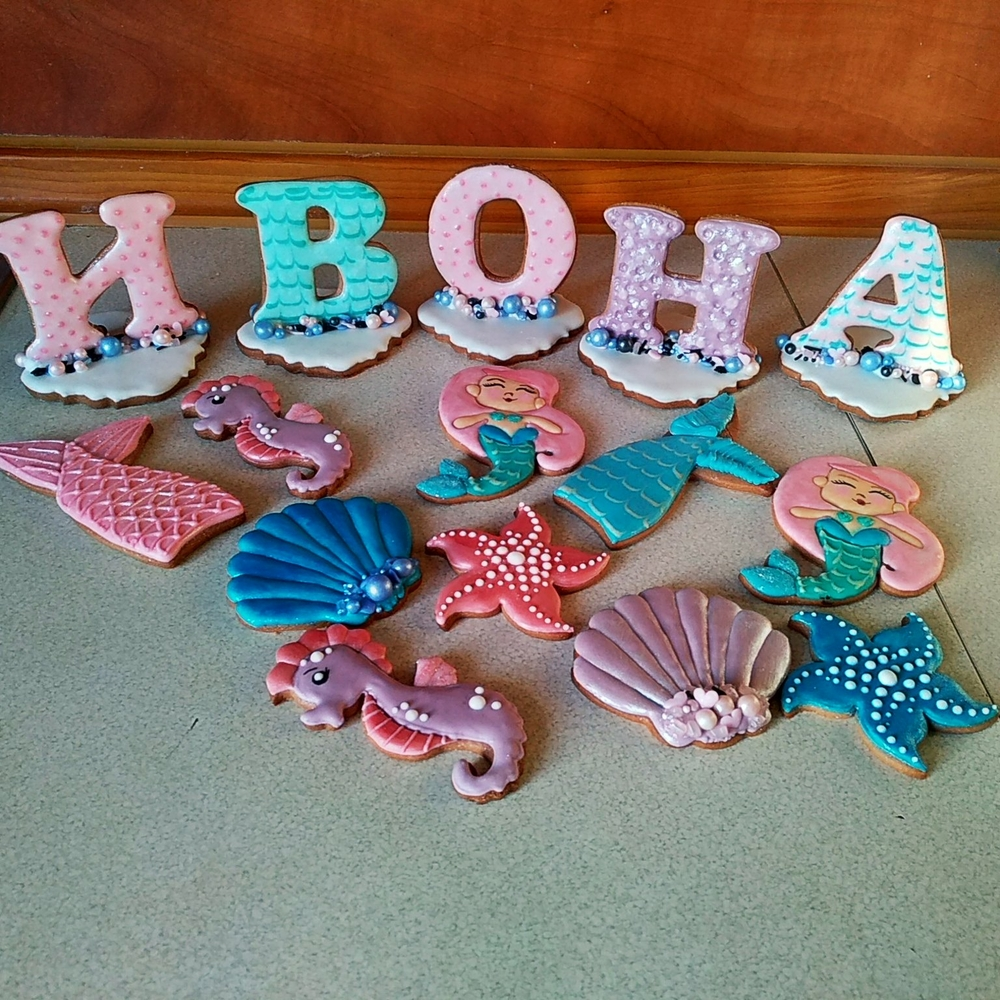 Mermaid-Themed Birthday